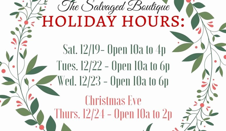 Holiday Hours Sign Template Fresh What S New In the Shop Holiday Hours & A Little Break