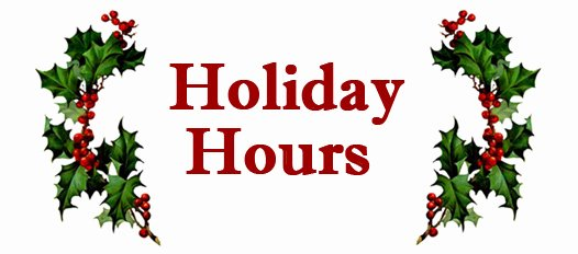 Holiday Hours Sign Template New Brock Careerzone Blog December 2012