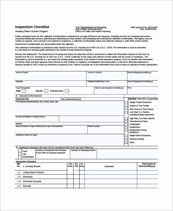 Home Building Checklist Template Elegant 15 Sample Home Inspection Checklist Templates