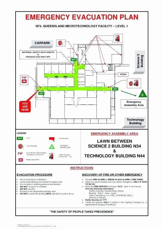 Home Evacuation Plan Template Beautiful Evacuation Plan Templates