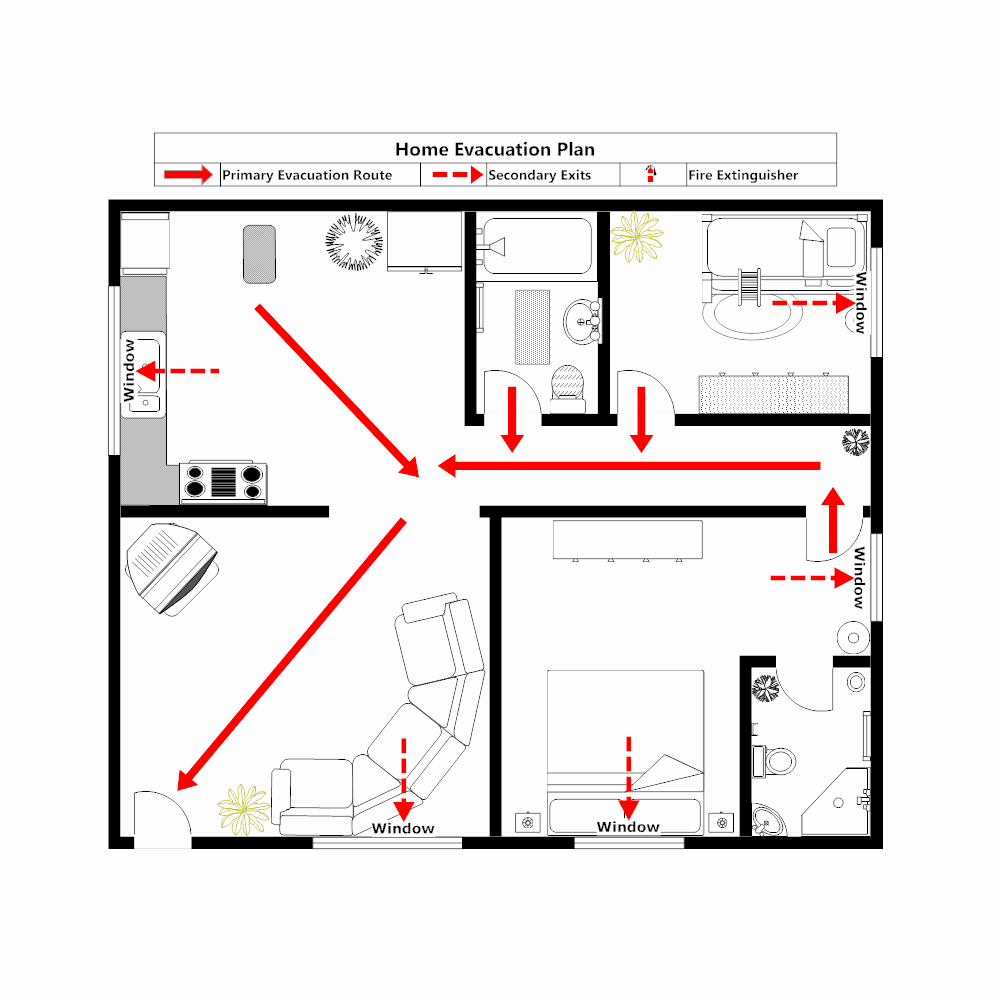 Home Evacuation Plan Template Best Of Home Evacuation Plan 3