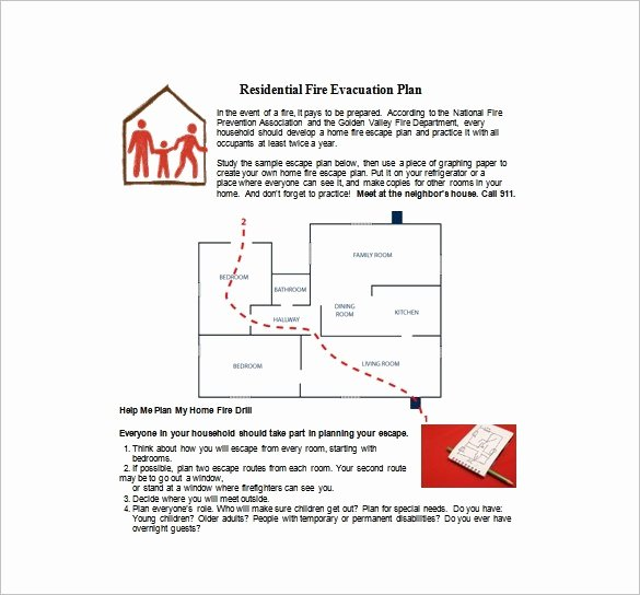 Home Evacuation Plan Template Fresh Fire Prevention Cover Letter Webcsulb Web Fc2