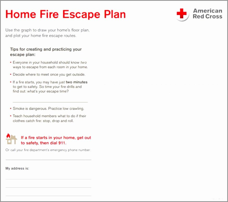 Home Evacuation Plan Template New 12 Home Fire Evacuation Plan Template Ierde