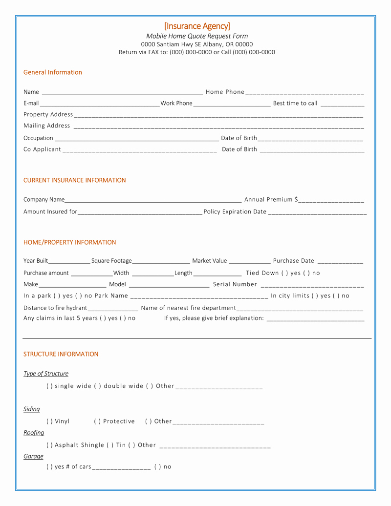 Home Insurance Quote Sheet Best Of Quotation Template 14 Quote Templates for Word Excel