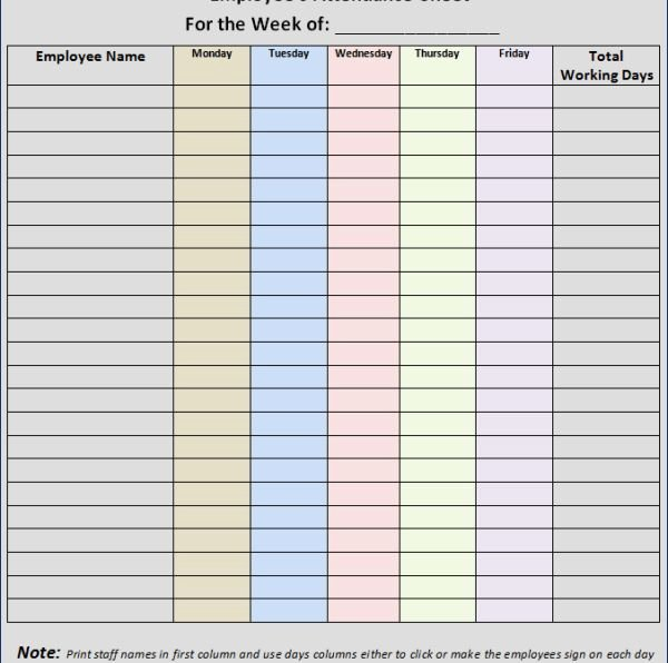 Homeschool attendance Record Excel Lovely 25 Best Ideas About attendance Sheet Template On
