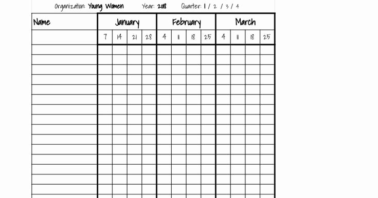 Homeschool attendance Record Excel Lovely Best 25 attendance Sheet In Excel Ideas On Pinterest