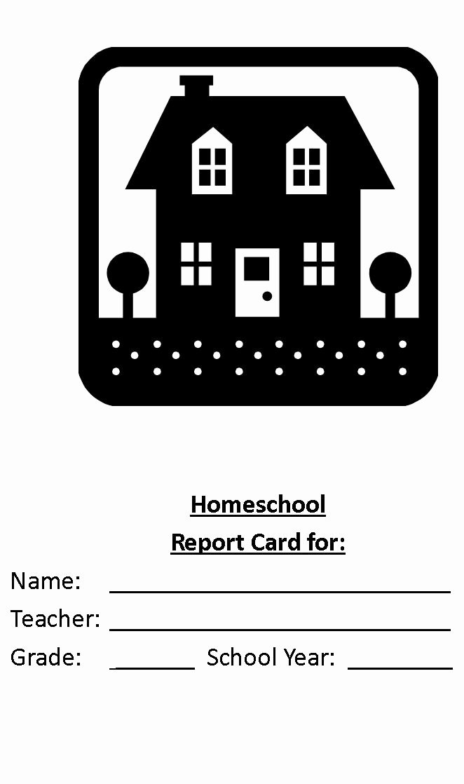 Homeschool Grading Template Awesome Create A Homeschool Report Card today