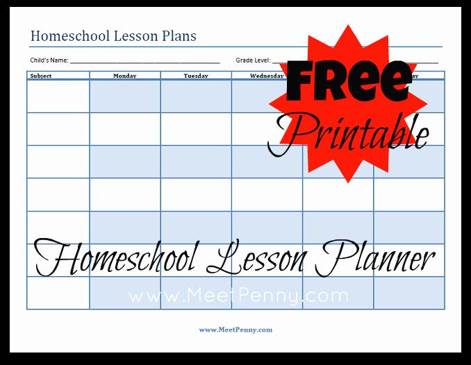Homeschool Grading Template Fresh Blueprints organizing Your Homeschool Lesson Plans Meet