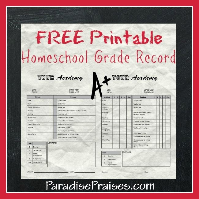 Homeschool Grading Template Inspirational 17 Best Images About Report Cards On Pinterest