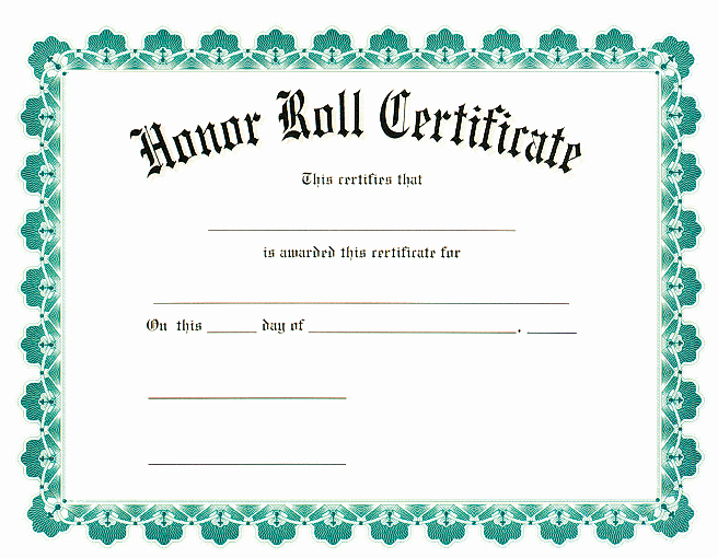 Honorary Certificate Template Beautiful Award Certificates