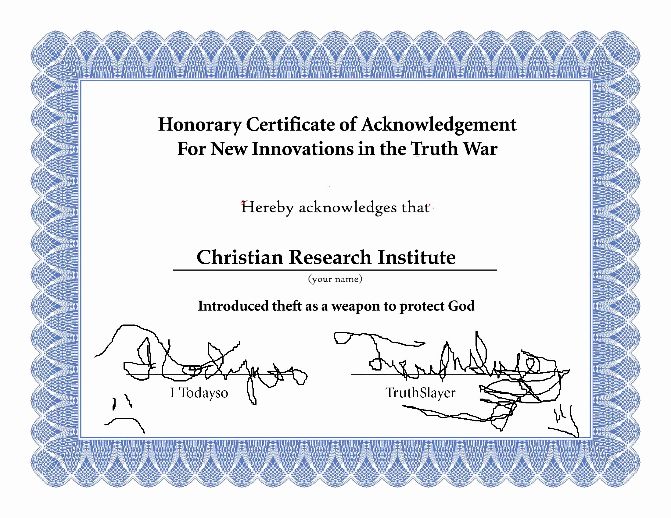 Honorary Certificate Template New Crn Receives Honorary Certificate Stealing is the New