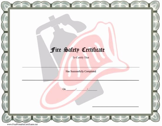 Honorary Firefighter Certificate Awesome 40 Printable Free Certificate Templates Mashtrelo