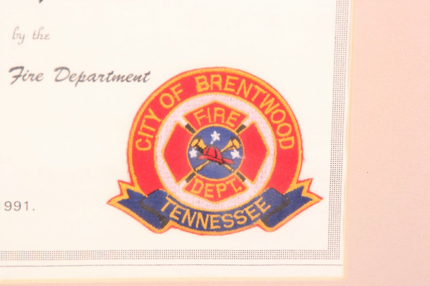 Honorary Firefighter Certificate Awesome Firefighter Helmet and Honorary Firefighter Plaque Ebth