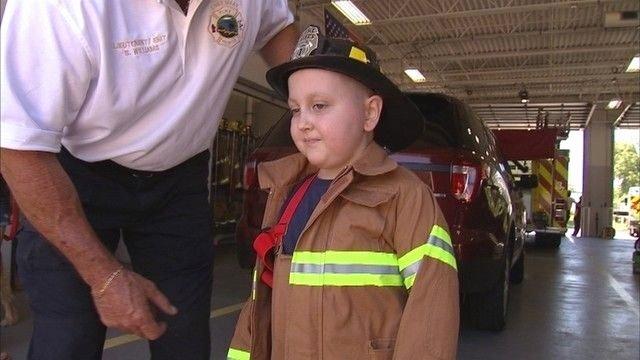 Honorary Firefighter Certificate Fresh Florida Boy Battling Brain Cancer Named Honorary