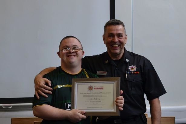 Honorary Firefighter Certificate Luxury Brave Down S Syndrome Hero Made Honorary Firefighter after