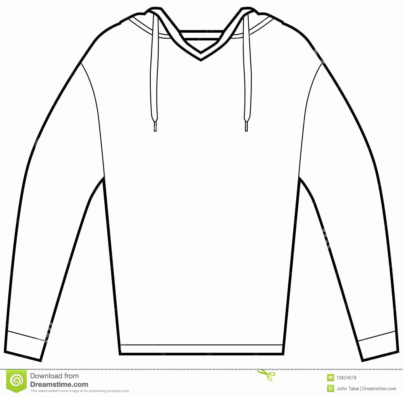 Hooded Sweatshirt Template Awesome 1 4 Sweatshirt Clipart Clipart Suggest