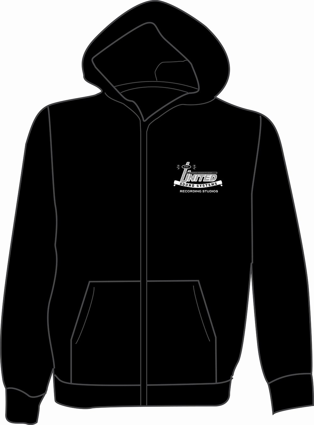 Hooded Sweatshirt Template Best Of Store Ussrs Detroit S Musical History