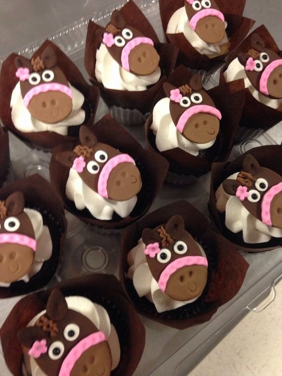 Horse Cake Template Awesome Best 25 Horse Cupcake Ideas On Pinterest