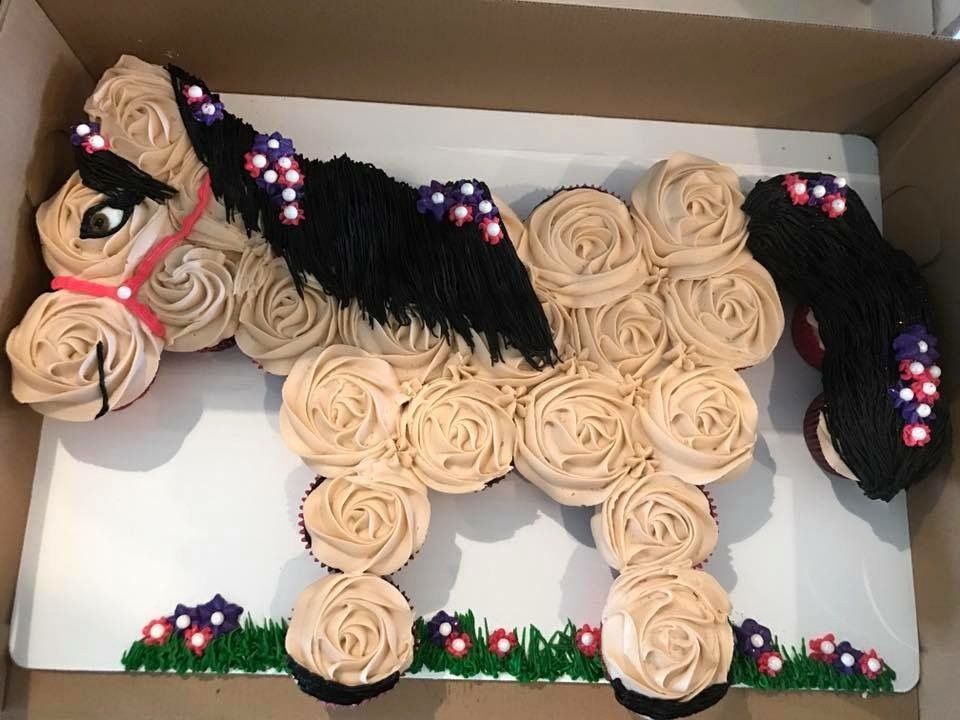 Horse Cake Template Best Of Horse Cupcake Cake My Cakes In 2019