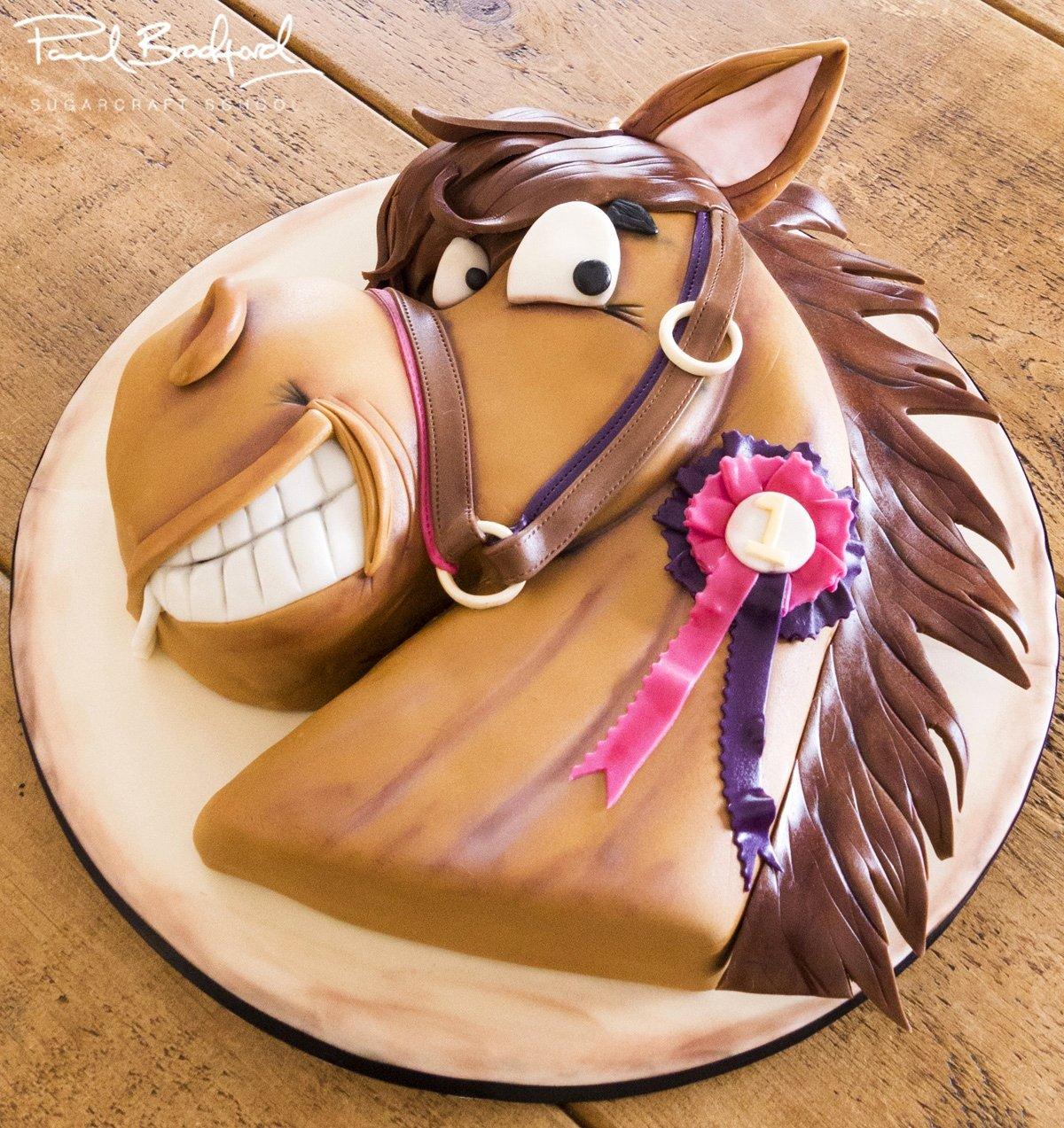 Horse Cake Template Lovely Horse Head Template for Cake