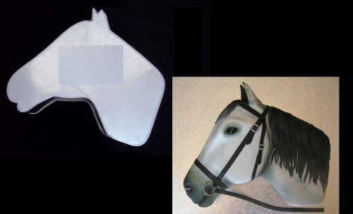 Horse Cake Template Luxury Horse Head Template for Cake