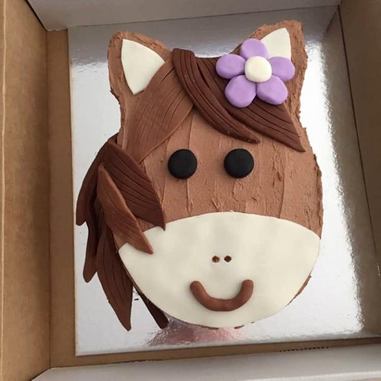 Horse Cake Template Luxury Pony Cake Kit Girls Birthday Cake Diy Cake Kit Horse Cake