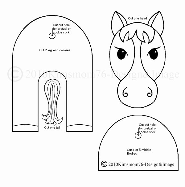 Horse Cake Template New 1000 Ideas About Fondant Horse Tutorial On Pinterest