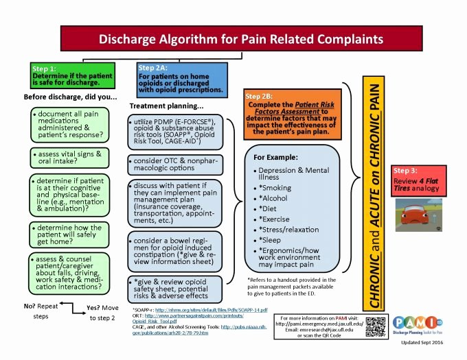 Hospital Discharge Instructions Beautiful Pami Ed Discharge Planning toolkit for Pain Pain