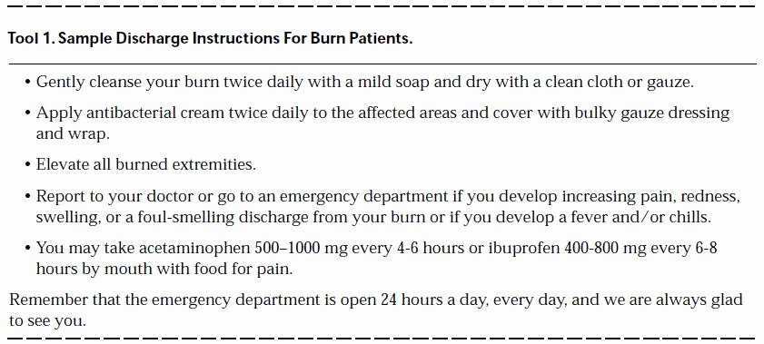 Hospital Discharge Instructions Lovely