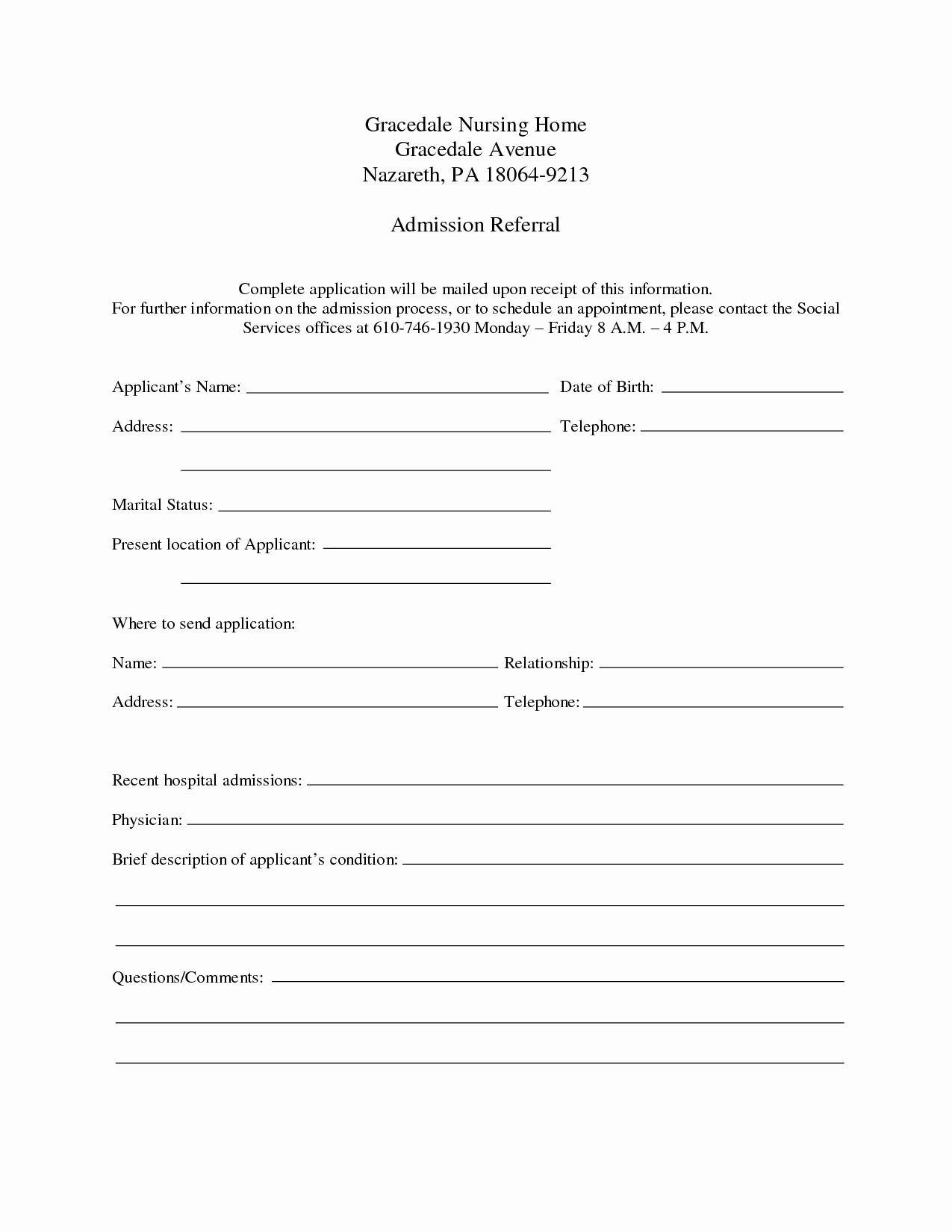 Hospital Discharge Papers Template Awesome 9 Best Of Free Printable Hospital Discharge forms