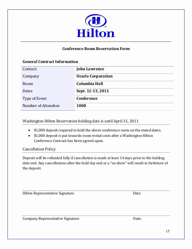 Hotel Proposal Template Beautiful Hilton Sales Proposal Work Example
