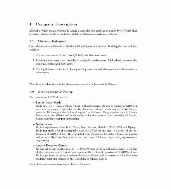 Hotel Proposal Template Fresh Research Proposal On Hotel Management