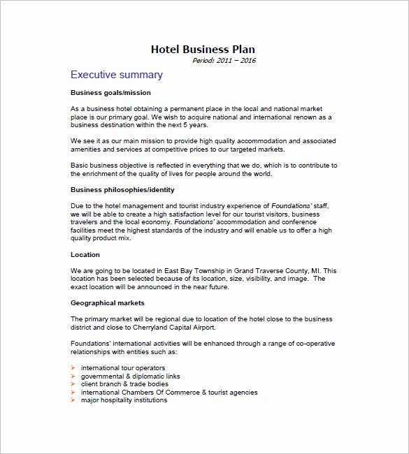 Hotel Proposal Template Inspirational Hotel Business Proposal Sample Filename – Platte Sunga Zette