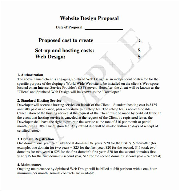Hotel Request for Proposal Template Inspirational Design Proposal Templates 17 Free Word Excel Pdf