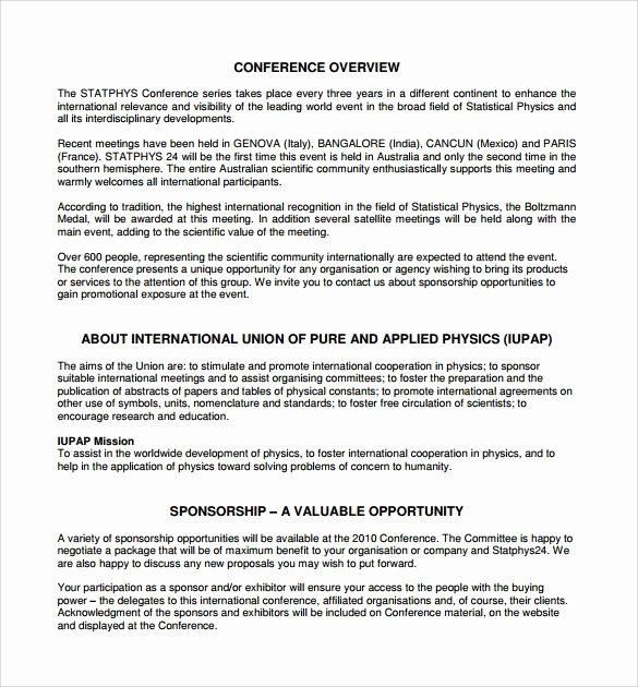 Hotel Request for Proposal Template New Image Result for Sample Letter for Film Premiere Sponsor