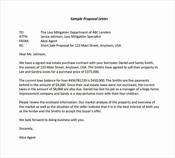 Hotel Rfp Template Inspirational 14 Sample Proposal Letter Templates – Pdf Doc Apple