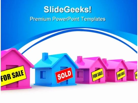 House for Sale Template Awesome Houses for Sale Real Estate Powerpoint Templates and