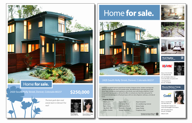 House for Sale Template Beautiful Free Real Estate Sale Flyer Template