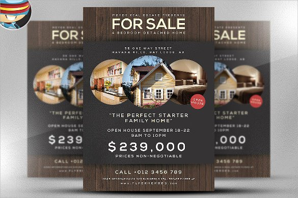 House for Sale Template Fresh 13 House for Sale Flyer Templates