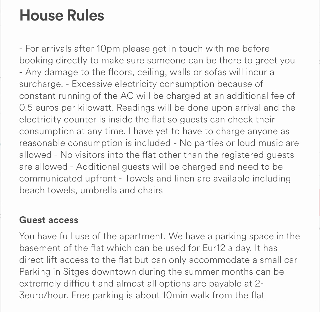 House Rules for Tenants Awesome 11 Learnings and Great Tips for Airbnb Hosts when Starting Out