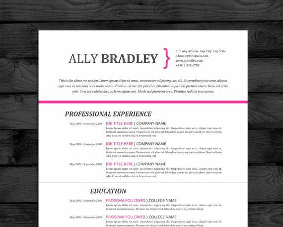 How to Cancel Resume now Awesome Resume Template with Cover Letter