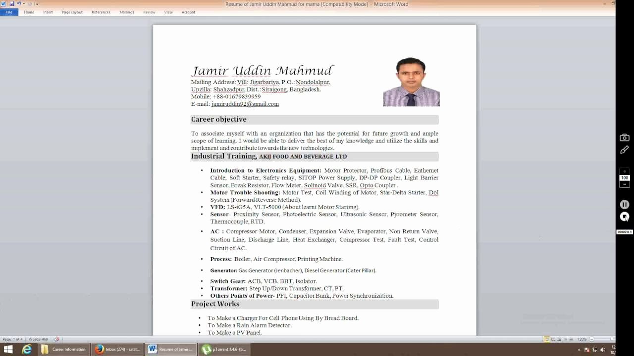 How to Cancel Resume now Inspirational How to Insert Picture In Resume