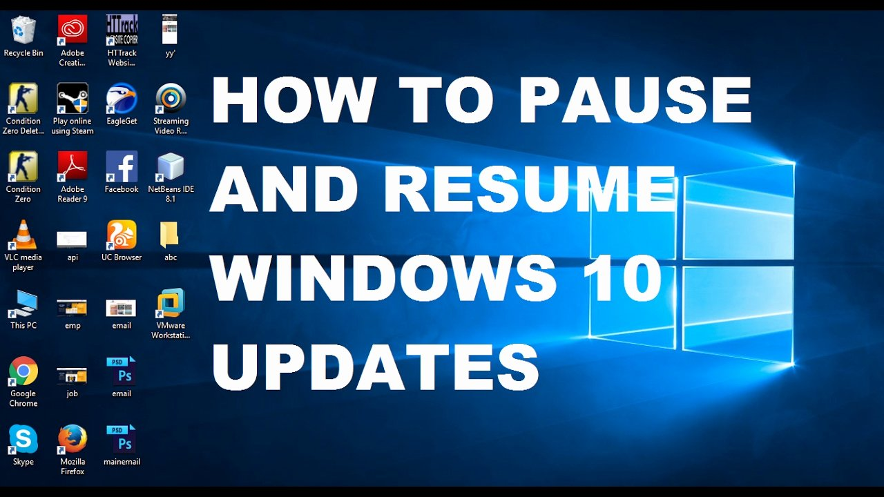 How to Cancel Resume now Lovely How to Pause and Resume Windows 10 Updates with Mand