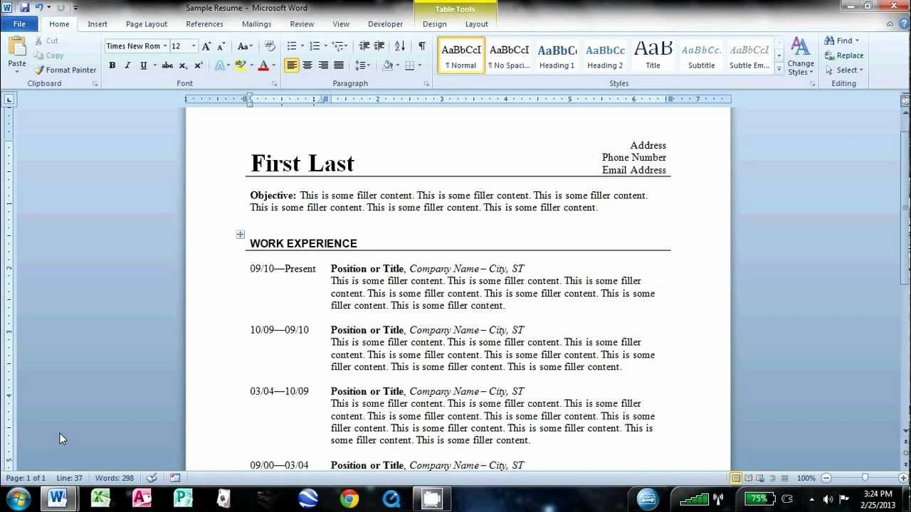How to Cancel Resume now Luxury How to Make An Easy Resume In Microsoft Word