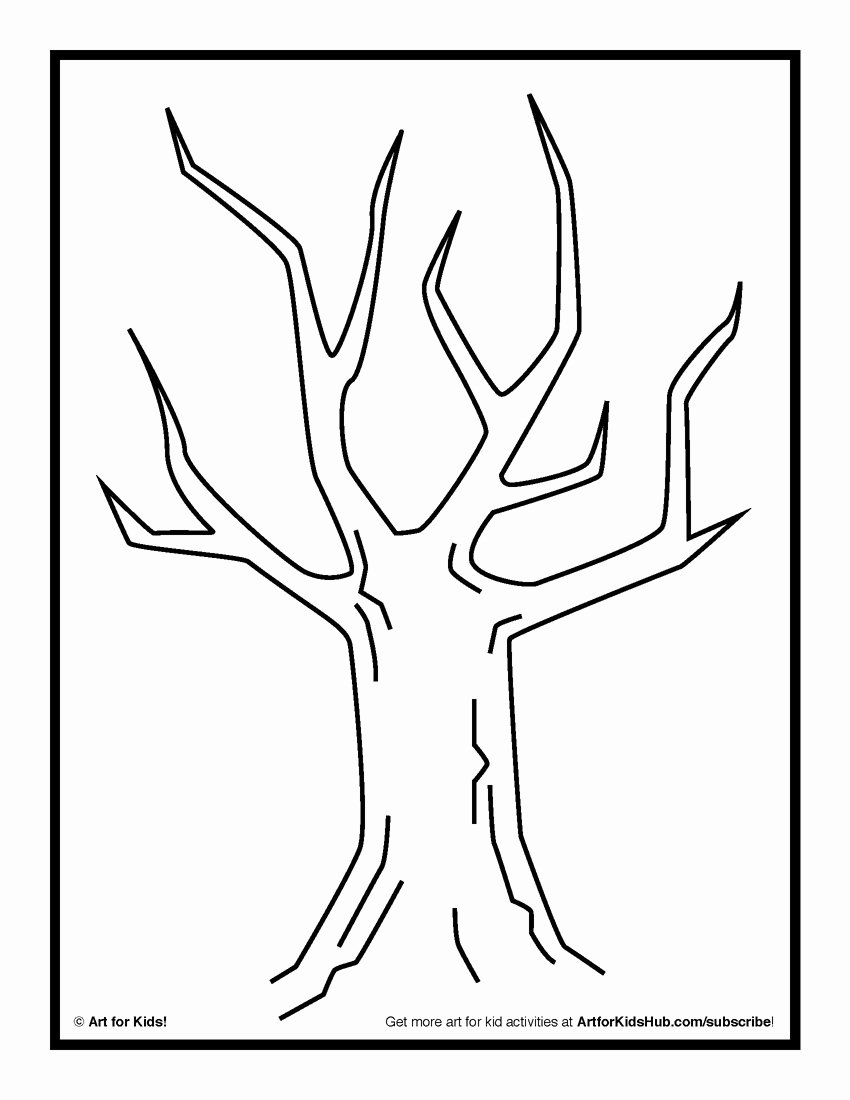 How to Draw A Simple Tree without Leaves Beautiful Tree Drawing without Leaves at Getdrawings
