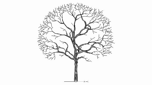 How to Draw A Simple Tree without Leaves Inspirational Autocad Drawing Tree without Leaves Dwg