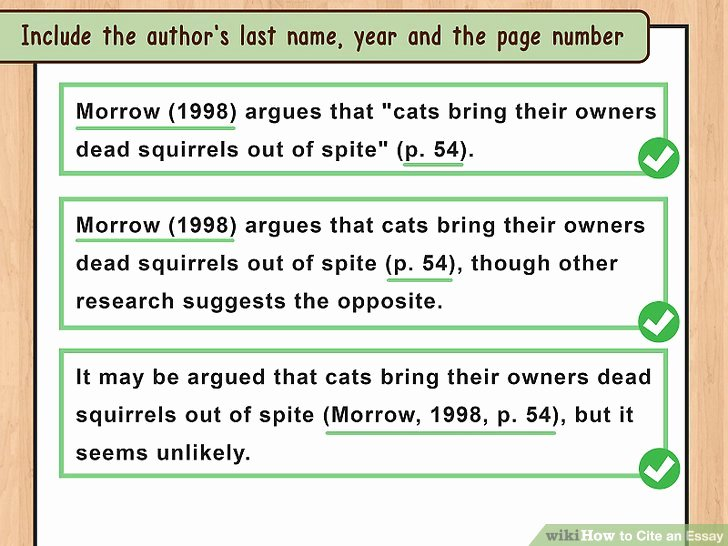 How to Quote An Essay Lovely 4 Ways to Cite An Essay Wikihow
