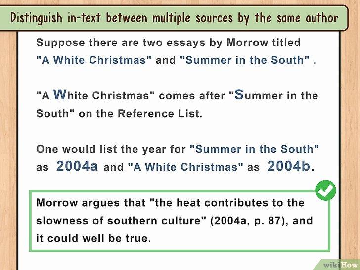 How to Quote An Essay New 4 formas De Citar Un Ensayo Wikihow