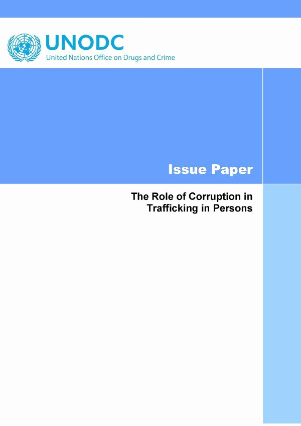 Human Trafficking Research Proposal Unique Police Corruption Research Paper Outline