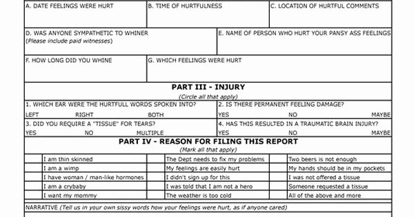 Hurt Feelings Report Template Beautiful School Mocks 'whiners' In Accidental Email to Parents